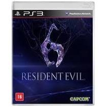 Resident Evil 6 Ps3 Novo E Lacrado Rcr Games
