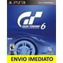 Jogo Gran Turismo 6 Ps3 Código Psn Dublado Em Português