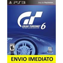 Jogo Gran Turismo 6 Ps3 Português Pt-br Promoção