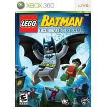 Lego Batman The Videogame Xbox 360 Original * Mídia Física *
