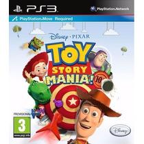 Toy Story Mania Move Ps3 Original Mídia Física Lacrado