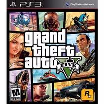 Jogo Grand Theft Auto V Gta 5 Mídia Física Lacrada Game Ps3