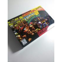 Caixa De Fitas De Super Nintendo Donkey Kong Country2