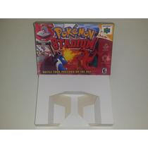 Caixa Pokémon Stadium + Berço Incluso, Nintendo 64!!!!