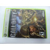 Jogo Xbox 360 Call Of Duty 3 Impecavel Raridade Segunda Guer