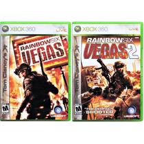 Rainbow Six Vegas I E Rainbow Six Vegas Ii 2 Originais Xbox
