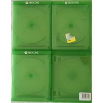 Lote Com 2 Capas Originais De Jogos Xbox One (case Capinha)
