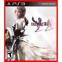 Final Fantasy 13 Xiii Parte 2 Ps3 Psn Promocao