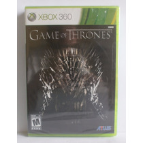 Game Of Thrones - Jogo Xbox 360 - Novo - Lacrado