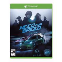 Need For Speed 2015 Xbox One Ptbr Novo Original Mídia Física