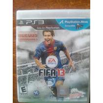 Jogo Fifa 2013 Ps3 Original