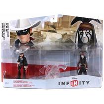 Kit Disney Infinity Play Set Pack Lone Ranger Nintendo Wii U