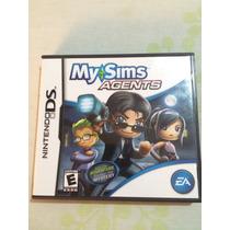 Jogo Para Nintendo 3ds Xl My Sims Agentesagents