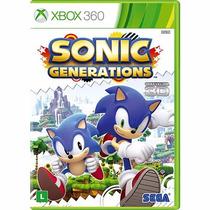 Sonic Generations - Xbox 360 - Lacrado - Original