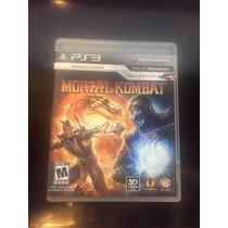Jogo Ps3 - Mortal Kombat + Kratos, Frete Barato.