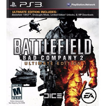 Battlefield Bad Company 2 Ultimate Edition - Ps3 - Lacrado