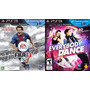 Kit Jogo Fifa 13 + Everybody Dance Ps3 Midia Fisica Lac Nf