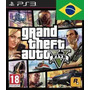 Grand Theft Auto 5 - Gta V Código Psn - Ps3 - Português
