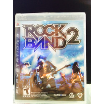 Jogo Rock Band 2 Playstation 3, Original, Novo, Lacrado