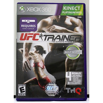 Ufc Personal Trainer The Ultimate Fitness System - Xbox 360