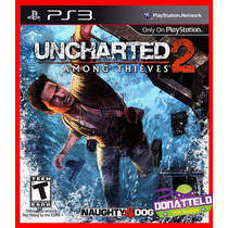 Uncharted 2 Ps3 Psn Among Thieves Promocao