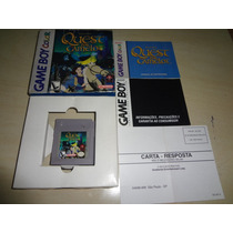 Fita Do Game Boy Color Quest For Camelot Da Nintendo