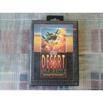 Mega Drive - Desert Strike - Return To The Gulf + Caixa