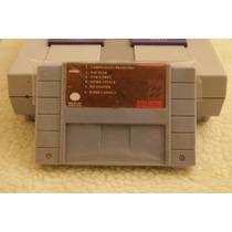 6in1 Top Gear Tom E Jerry Tetris Pit Fighter Super Nintendo
