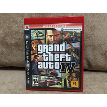 Jogo / Game Ps3 - Gta Iv (4) Grand Theft Auto