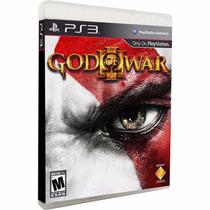God Of War 3 Ps3 - Mídia Física - Usado - Frete Grátis*