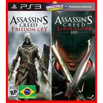 Assassins Creed Freedom Cry E Liberation Ps3 Psn Dublado