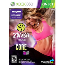 Zumba Fitness Core Para Kinect Xbox 360 Novo Lacrado