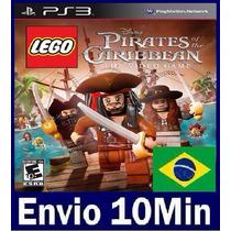 Lego Pirates Of The Caribbean Playstation Ps3 Código Psn