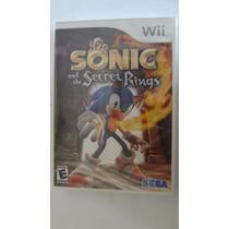 Sonic And The Secret Rings Nintendo Wii Novo E Lacrado