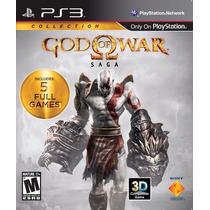 Ps3 - God Of War Saga (1, 2 E 3) - Original - Semi - Míd Fís