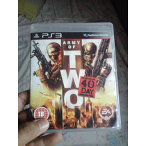 Army Of Two The 40th Day Jogo Ps3 Mídia Física Frete 10,00