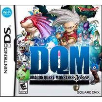 Jogo Nintendo Ds Dragon Quest Monsters Joker Original