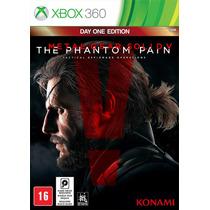 Metal Gear Solid V The Phantom Pain Xbox 360 Mídia Física