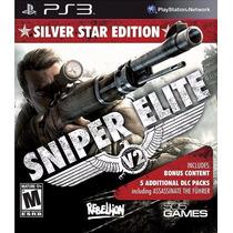 Sniper Elite V2 Silver Star Edit #venda/troca #frete Grátis#