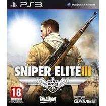 Sniper Elite 3 Ps3 Legendado Br - Cod. Psn Envio Via Email