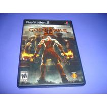 Playstation 2 : God Of War 2 Black Label Na Caixa , Original