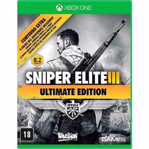 Sniper Elite 3: Ultimate Edition (mídia Física) - Xbox One