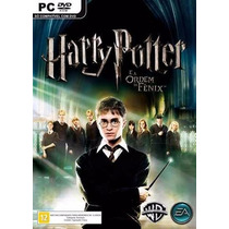 Harry Potter E A Ordem Da Fênix Pc Dvd Game Lacrado