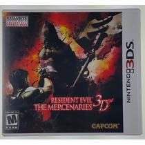 Resident Evil The Mercenaries 3d / 3ds - Original E Completo