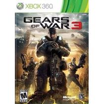 Jogo Gears Of War 3 Xbox 360