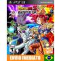 Dragon Ball Z Battle Of Z - Ps3 - Código Psn - Envio Agora !
