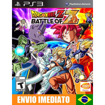 Dragon Ball Z Battle Of Z - Ps3 - Código Psn - Envio Agora !