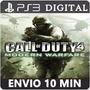 Call Of Duty 4 Modern Warfare Ps3 Psn Envio Via Email Play3