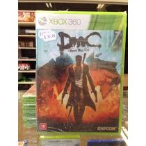 Dmc Devil May Cry 5 Xbox 360 Lacrado + Dlc Gratis Promoção !