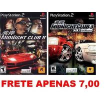 Midnight - Kit 2 Games Path Para Ps2 Playstation 2
